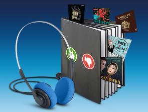 O2 Audiokniha roku - slevy až 30 %