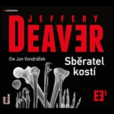 Audiokniha Sběratel kostí  - autor Jeffery Deaver   - interpret Jan Vondráček