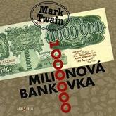 Audiokniha Milionová bankovka