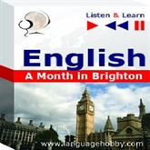 "Audiolibro English in Conversations ""A Month in Brighton"" - for French, German, Italian, Japanese, Polish, Russian, Spanish speakers  - autor DIM"