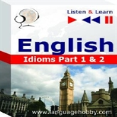 "Audiolibro English Vocabulary ""Idioms Part 1 & 2"" - for French, German, Japanese, Polish, Russian, Spanish speakers  - autor DIM"