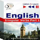 "Audiolibro English Vocabulary ""Irregular Verbs Part 1"" - for French, German, Italian, Japanese, Polish, Russian, Spanish speakers  - autor DIM"