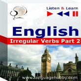 "Audiolibro English Vocabulary ""Irregular Verbs Part 2"" - for French, German, Italian, Japanese, Polish, Russian, Spanish speakers  - autor DIM"