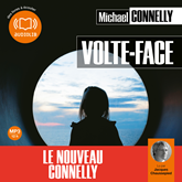 Livre audio Volte face  - auteur Michael Connelly   - lu par Jacques Chaussepied