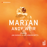 Audiokniha Marťan  - autor Andy Weir   - interpret Jan Zadražil