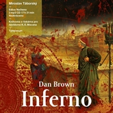 Audiokniha Inferno  - autor Dan Brown   - interpret Miroslav Táborský