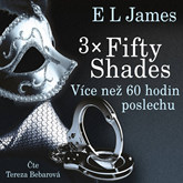 Audiokniha 3x Fifty Shades  - autor E L James   - interpret Tereza Bebarová