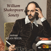Audiokniha Sonety  - autor William Shakespeare   - interpret Milan Friedl