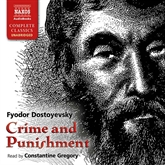 Audiobook Crime and punishment  - author Fyodor Dostoyevsky   - read by Constantine Gregory