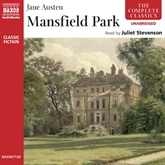 Audiobook Mansfield Park  - author Jane Austen   - read by Juliet Stevenson