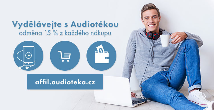 Affiliate program Audiotéka