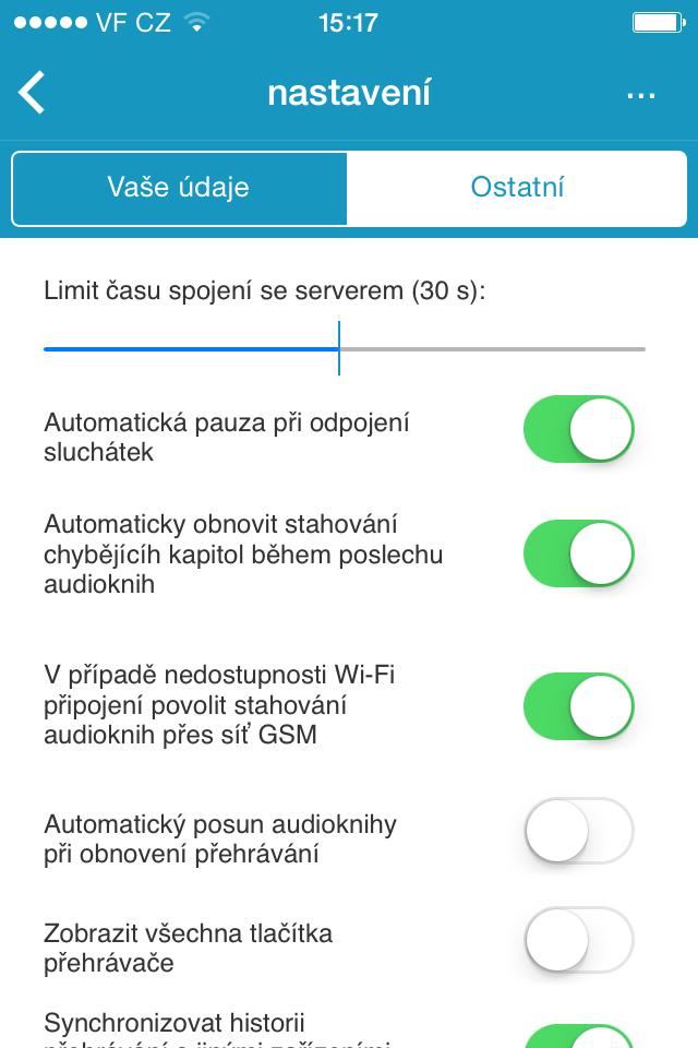 Manuál iPhone