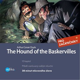 Audiokniha The Hound of the Baskervilles  - autor Arthur Conan Doyle;Dana Olšovská   - interpret Charles du Parc