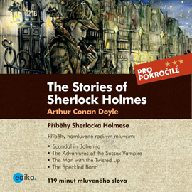 Audiokniha The Stories of Sherlock Holmes  - autor Arthur Conan Doyle;Sabrina D.Harris   - interpret Theodore Christopher Vasilis