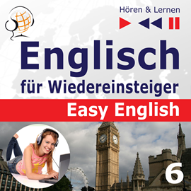 Audiokniha Easy English 6: Auf Reisen  - autor Dorota Guzik   - interpret více herců