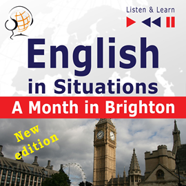 Audiokniha English in Situations: A Month in Brighton New Edition B1  - autor Dorota Guzik;Joanna Bruska   - interpret Maybe Theatre Company