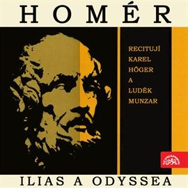 homér odyssea audiokniha zdarma