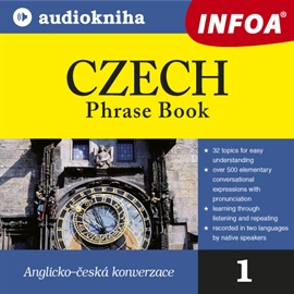 Audiokniha Czech - Phrase Book