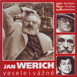 Audiokniha Vesele i vážně  - autor Jan Werich   - interpret Jan Werich