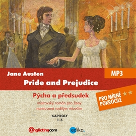 Audiokniha Pride and Prejudice  - autor Jane Austenová   - interpret Diego Alava