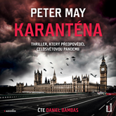 Audiokniha Karanténa  - autor Peter May   - interpret Daniel Bambas