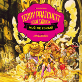 Audiokniha Muži ve zbrani  - autor Terry Pratchett   - interpret Jan Zadražil