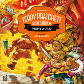 Audiokniha Nohy z jílu  - autor Terry Pratchett   - interpret Jan Zadražil