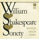 Audiokniha Sonety  - autor William Shakespeare   - interpret Václav Voska