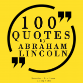 100 quotes by Abraham Lincoln