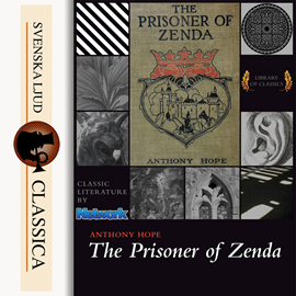 Hörbuch The Prisoner of Zenda  - Autor Anthony Hope   - gelesen von Andy Minter