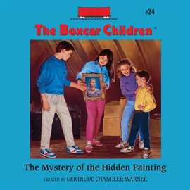 Hörbuch The Mystery of the Hidden Painting  - Autor Aimee Lilly   - gelesen von Gertrude Warner