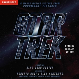 Hörbuch Star Trek Movie Tie-In  - Autor Alan Dean Foster   - gelesen von Zachary Quinto