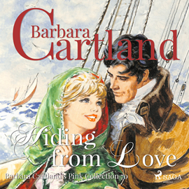 Hörbuch Hiding from Love (The Pink Collection 70)  - Autor Barbara Cartland   - gelesen von Anthony Wren