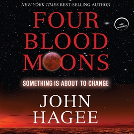 Hörbuch Four Blood Moons  - Autor Dean Gallagher   - gelesen von John Hagee