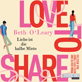 Hörbuch Love to share  - Autor Beth O'Leary   - gelesen von Anna Carlsson