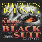 Hörbuch The Man in the Black Suit  - Autor Stephen King   - gelesen von John Cullum