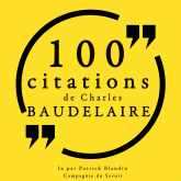 100 citations de Charles Baudelaire