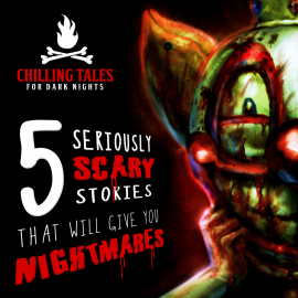 Hörbuch 5 Seriously Scary Stories That Will Give You Nightmares  - Autor Chilling Tales for Dark Nights   - gelesen von Chilling Tales for Dark Nights