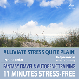 Hörbuch 11 Minutes Stress-Free - Alliviate Stress Quite Plain! a Fantasy Travel to the Sea & Autogenic Training  - Autor Colin Griffiths-Brown   - gelesen von Torsten Abrolat