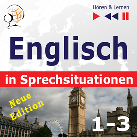 Hörbuch Englisch in Sprechsituationen. 1-3 – Neue Edition: A Month in Brighton + Holiday Travels + Business English  - Autor Dorota Guzik;Anna Kicińska;Joanna Bruska   - gelesen von Maybe Theatre Company