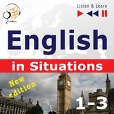 Hörbuch English in Situations 1-3 – New Edition: A Month in Brighton + Holiday Travels + Business English (Proficiency level: B1-B2)  - Autor Dorota Guzik;Anna Kicińska;Joanna Bruska   - gelesen von Maybe Theatre Company