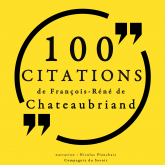 100 citations de François-René de Chateaubriand