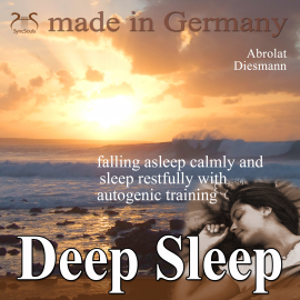 Hörbuch Deep Sleep - falling asleep calmly and sleep restfully with autogenic training  - Autor Franziska Diesmann   - gelesen von Colin Griffiths-Brown