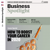Business-Englisch lernen Audio - How to boost your career in 2020