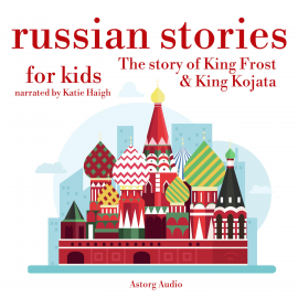 Hörbuch Russian stories for kids  - Autor James Gardner   - gelesen von Katie Haigh