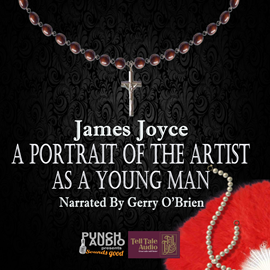Hörbuch Portrait of the Artist as a Young Man  - Autor James Joyce   - gelesen von Gerry O'Brien