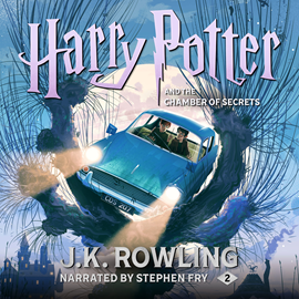 Hörbuch Harry Potter and the Chamber of Secrets  - Autor J.K. Rowling   - gelesen von Stephen Fry
