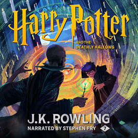 Hörbuch Harry Potter and the Deathly Hallows  - Autor J.K. Rowling   - gelesen von Stephen Fry