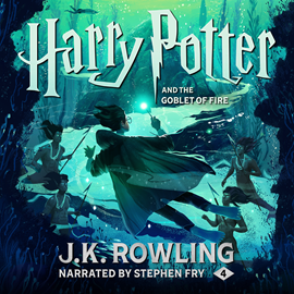 Hörbuch Harry Potter and the Goblet of Fire  - Autor J.K. Rowling   - gelesen von Stephen Fry