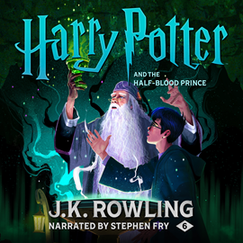 Hörbuch Harry Potter and the Half-Blood Prince  - Autor J.K. Rowling   - gelesen von Stephen Fry